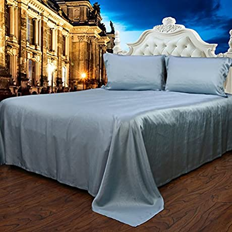 Pure Silk Bed Linen Thick Seamless Silk Bed Mikasa I 150x200cm 59x79inch