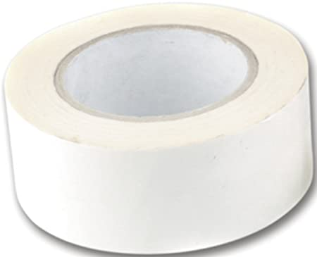 2 Rolls Of 50mm Double Sided Sticky Tape 2 Inches Wide X 50 Metres