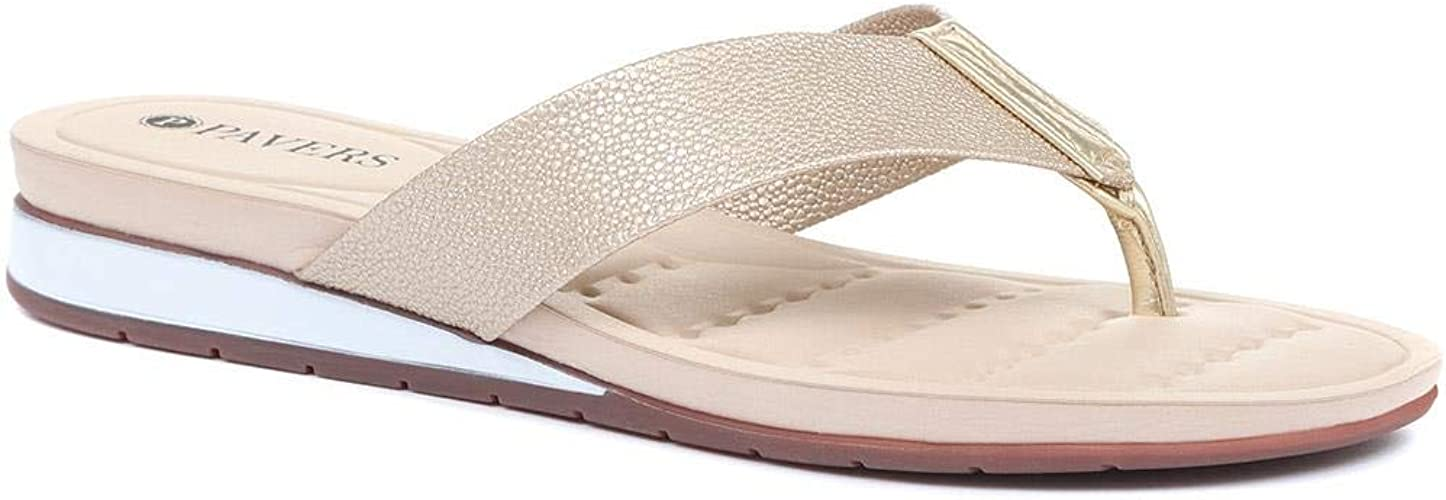 Pavers Flat Toe Post Sandals 318 371