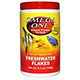 Omega One Freshwater Flakes, 5.3 oz.