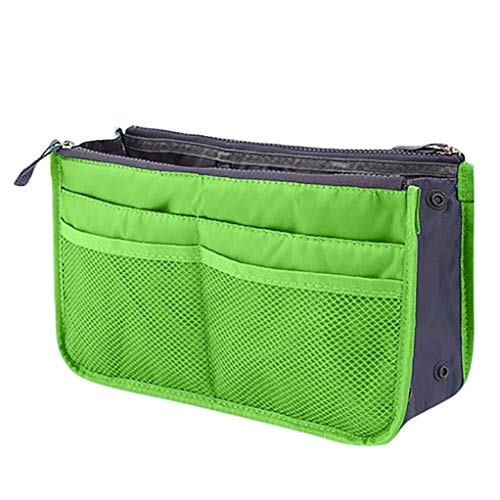 Bag Travel Handbag Insert Purse DOLDOA Liner Large Capacity Organize Green Cosmetic Blue Clothing Storage for Women Tidy Organiser Light Organizer wA7xxBvWqF