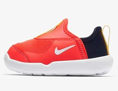 cd2c278e Amazon.com   Nike Lil Swoosh Td Bright Crimson Infant Slip On Shoe ...