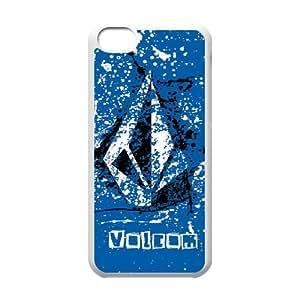 Volcom iPhone 5c Cell Phone Case White yyfabd-256165