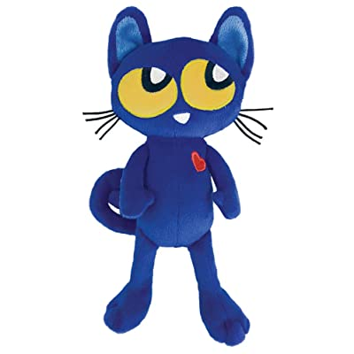 MerryMakers Pete the Kitty Plush Doll, 8.5-Inch: Dean, James: Toys & Games
