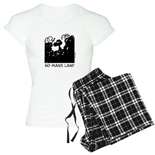 CafePress - No-Man's Land - Womens Novelty Cotton Pajama Set, Comfortable PJ Sleepwear