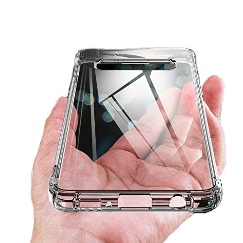 Smiling Clear Case for Samsung Galaxy S10 Plus, Crystal Clear [Anti-Yellow] Galaxy S10 Plus Case Ultra Slim Thin Soft TPU Anti-Scratch Protective Cover Case for Samsung Galaxy S10 Plus