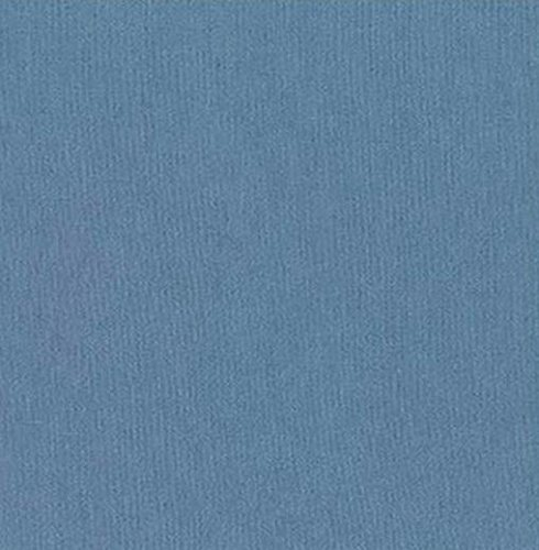 Sashiko Fabric - Cotton-Linen - Cadet Blue
