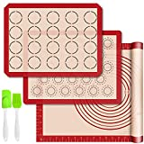Silicone Baking Mats with Measurement - Set of 3