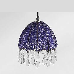 LOFAMI Modern Luxury Crystal Chandelier Restaurant Living Room Ceiling Light Hotel Cafe Pendant Light