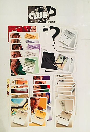 Clue Replacement Cards   Complete Set Of 54 Cards For Clue   Discover The Secrets Board Game