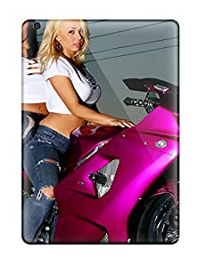 New Style Archerfashion2000 Hard Cases Covers For Ipad Air- Motorcycle Girls