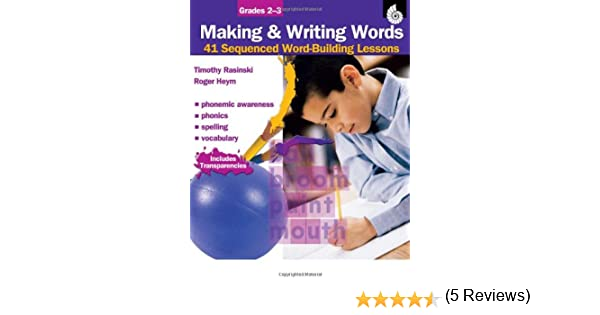 Making and Writing Words: Grades 2-3 (Making & Writing Words ...