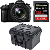 Panasonic LUMIX DMC-FZ2500 21.1 MP Camera 3 inches LCD 20X LEICA VARIO-ELMART F2.8-4.5 Lens (Black) Bundle