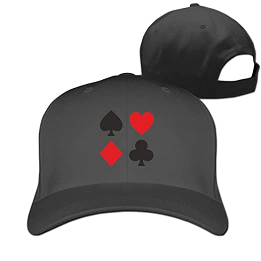 EIGTU Poker Symbols Baseball Cap Trucker Hats Adjustable Dad Hat Peaked  Flat Men Women at Amazon Women s Clothing store  cdf8df1fa9