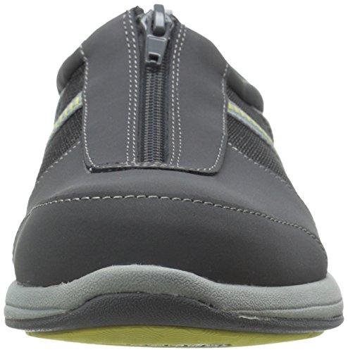 Easy Street Dames Delilah Fashion Sneaker Grijs Leer / Stof