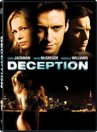 Amazon.com: Deception: Hugh Jackman, Ewan McGregor, Michelle ...