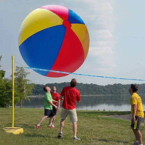 XuBa 130 cm Gigante Inflable Pelota de Playa 50 Pulgadas Voleibol ...