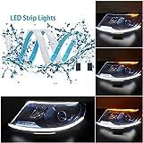 Best Daytime Running Led Strips - 60CM LED Strip Lights DRL Flexible Daytime Running Review