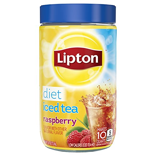 Lipton Iced Tea Mix, Diet Raspberry, 2.6 oz.(Pack of (Raspberry Iced Tea)