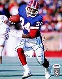 "Thurman Thomas Autographed 8x10 Photo Buffalo Bills ""1991 NFL MVP"" PSA/DNA Stock #61904"