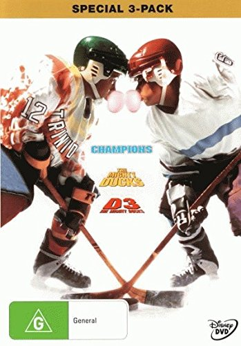 Champions + D2 Mighty Ducks + D3 Mighty Ducks [NON-USA Format / PAL / Region 4 Import - Australia]