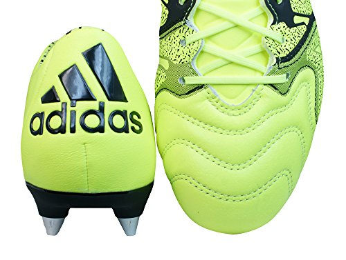 Yellow Cleats 1 Mens SG Football 15 Boots X Leather adidas Yellow qx6zHF8z