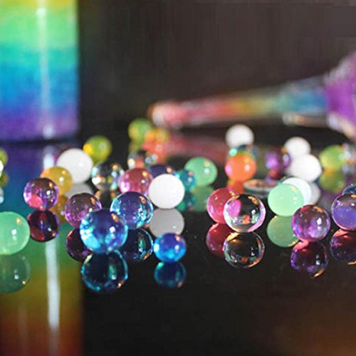 DEESEE(TM) Pearl Soil Water Beads Gel Ball For Flower Mud Grow Magic Jelly Balls Decoratio (navy) for $<!--$0.11-->
