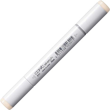 E41 Pearl White Copic Ciao Twin Tip Marker Pen