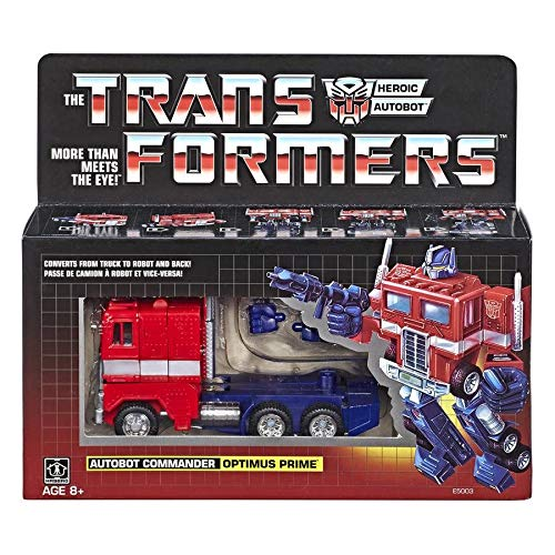 Transformers Optimus Prime G1 Reissue