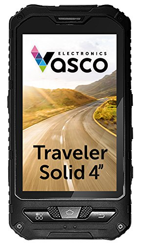 Vasco Traveler Solid 4'': Speech Translator, GPS, Mobile, Guide - Waterproof, Shockproof, Dustproof by Vasco Electronics