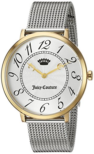 Juicy Couture Women's 'LA ULTRA SLIM' Quartz Gold Casual Watch(Model: 1901558) (Juicy Couture Model)