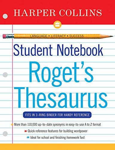 Harper Collins Student Notebook A-Z Thesaurus