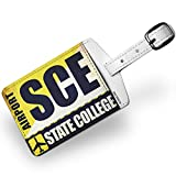 Luggage Tag Airportcode SCE State College - NEONBLOND