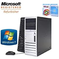 HP DC7700 DESKTOP PC CORE 2 DUO 1.86GHZ 80GB 3GB CDRW/DVD WINDOWS 7 HOME (Certified Refurbished)