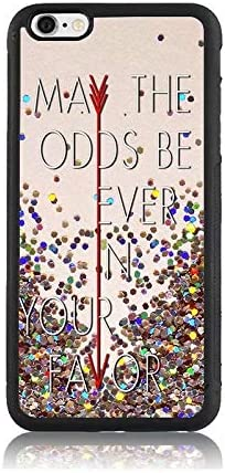 Hunger Games Quote Print Case for Apple iPhone 6s, Shock-Absorption Soft Bumper Hard Back Cover Anti-Scratch Drop Protection for iPhone 6s