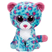 "Ty Beanie Boos Sydney Leopard Medium Plush 9"" (Claire's Exclusive)"