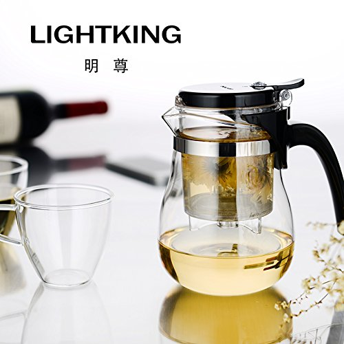lightking-g-13-premium-infuser-teapot-set-20oz-2-glass-tea-cups-5oz