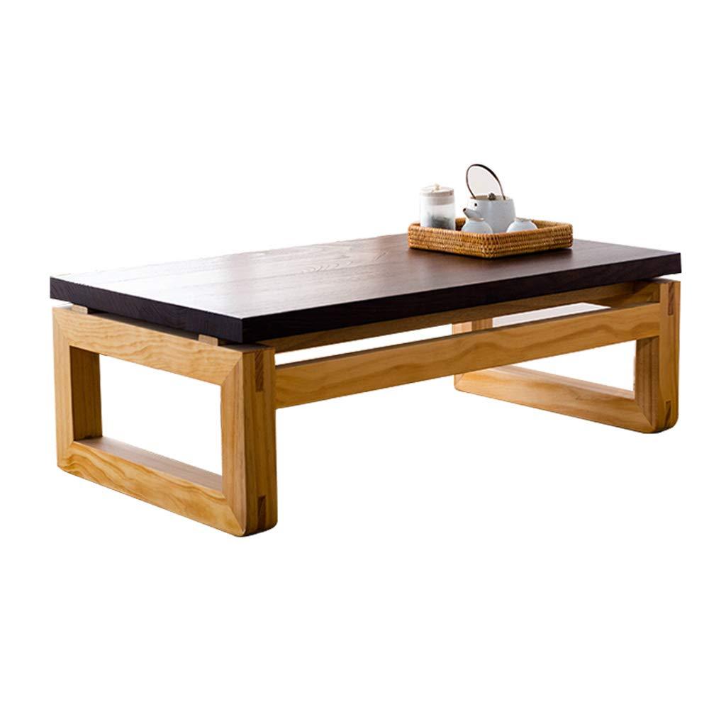Tavolo Tavolino in Legno massello Tavolo da Biliardo Tavolo da Balcone Tavolo di Moda Tavoli e tavolini (Colore   Marronee, Dimensione   70  45  30cm)