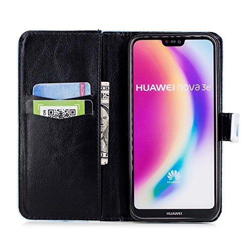 Built Card Lite 3D P20 Patterns 5 Shell Design Foldable Quality Protection Katech Case Huawei Slots Absorbtion High inches for Feature Lite in Shock 84 Phone Case P20 Cover pattern 9 3D Kickstand Bling Phone TOCqUwnPp