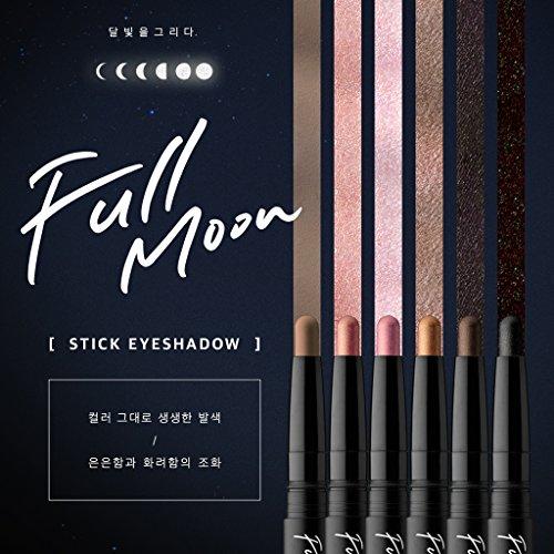 [KARADIUM] Fullmoon Stick Eye Shadow 1.4g - 6 Colors/Daily Eye Makeup (#6 Summer Night) by KARADIUM (Image #2)
