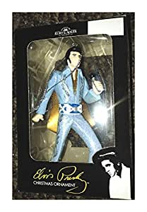 Elvis Presley Christmas Kurt Adler Ornament Blue Suit