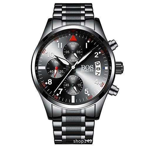 North King Quartz Watches Date Display Four Dials Men's Watch Multi Function Watches for Adults As A Gift