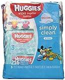 Huggies Simply Clean Fresh Baby Wipes Bundle 3-Pack, 72 Count