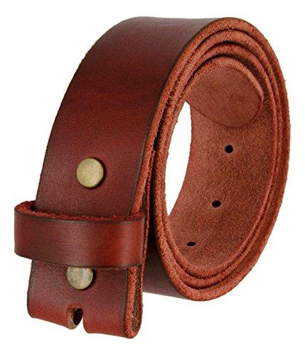 BS-40 Vintage Style Full Grain 100% Leather 1-1/2