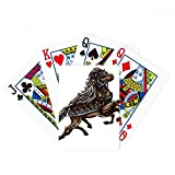 Running Horse Armor Animal Art Grain Poker Playing Cards Tabletop Game Gift