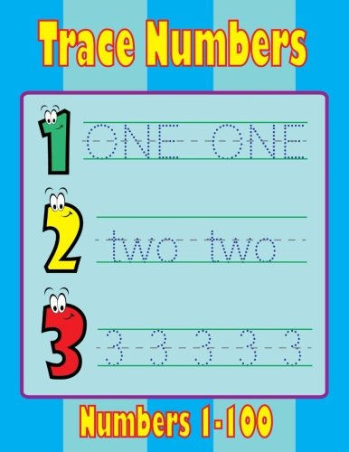 Trace Numbers Book: Activity Book for Kids  Age 3-5