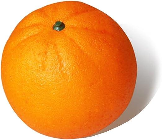Artificiales Fruta Naranja-realista buscando Cocina Decoración-Plástico Fruta falso