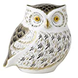 Royal Crown Derby LITTLE GREY OWL BIRD
