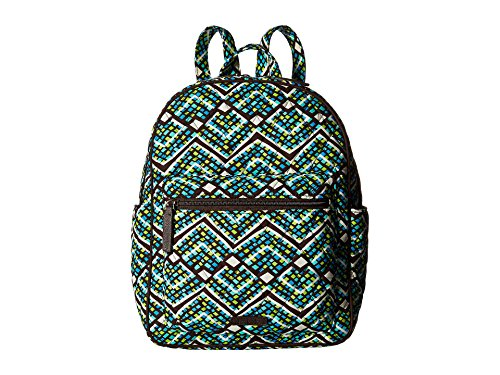 Vera Bradley Women's Leighton Backpack, Rain Forest