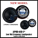(4) AUDIOPIPE APMB-6SB-C TWO PAIR 6-6.5